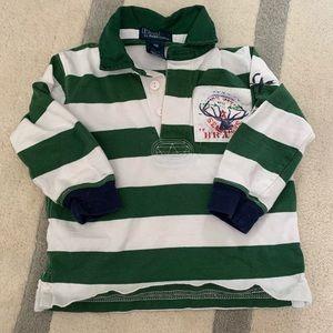 🏇🏼 2/$20 Polo Ralph Lauren Rugby shirt 18m